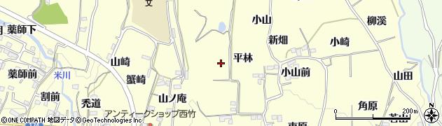 福島県福島市飯坂町湯野(小沢)周辺の地図