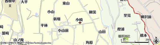 福島県福島市飯坂町湯野(小崎)周辺の地図