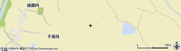 福島県伊達市梁川町大関(下兎待)周辺の地図