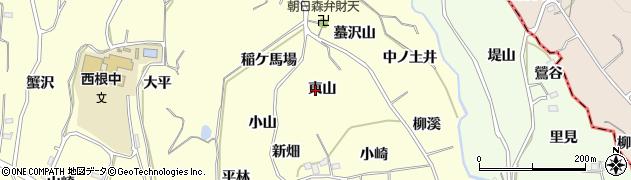 福島県福島市飯坂町湯野(東山)周辺の地図