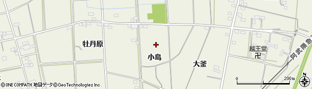 福島県伊達市保原町二井田周辺の地図