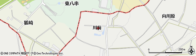 福島県伊達市伏黒(川前)周辺の地図