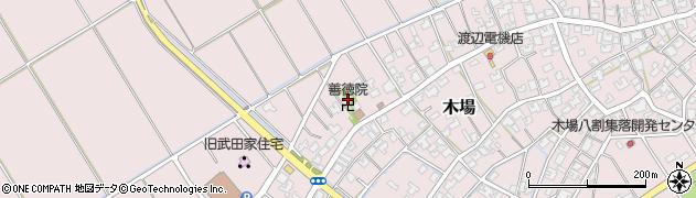 善徳院周辺の地図