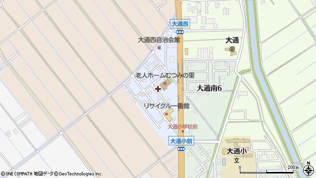 〒950-1204 新潟県新潟市南区大通西の地図