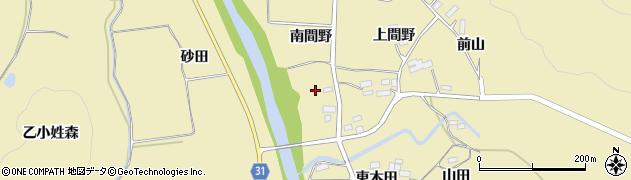 福島県伊達市梁川町大関(土平)周辺の地図