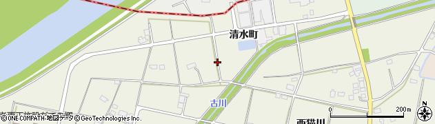 福島県伊達市保原町(清水町)周辺の地図