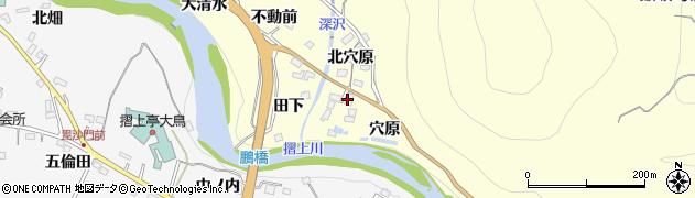 マーキュロップふくしま周辺の地図