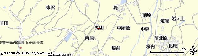 福島県福島市飯坂町湯野(丸山)周辺の地図