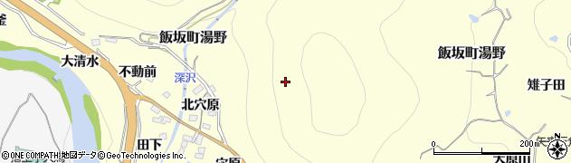 福島県福島市飯坂町湯野(芋殻舘)周辺の地図