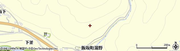 福島県福島市飯坂町湯野(不動林)周辺の地図