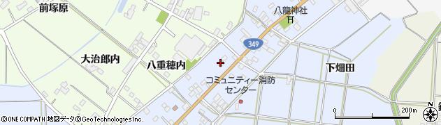 福島県伊達市梁川町柳田(町ノ内)周辺の地図
