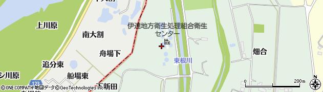福島県伊達市保原町中瀬(道下1号)周辺の地図