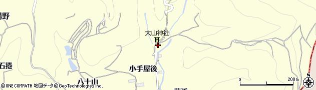 福島県福島市飯坂町湯野(一口坂)周辺の地図
