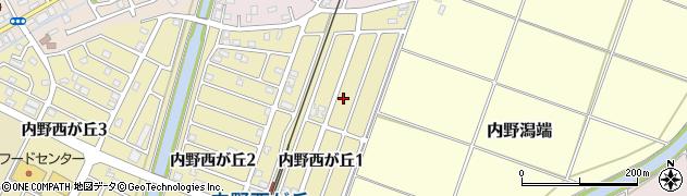 新潟県新潟市西区内野潟端2496周辺の地図