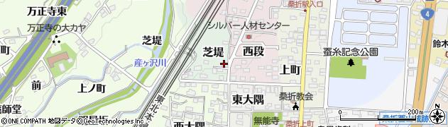 そろばんプラス 桑折教室周辺の地図