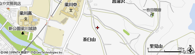 福島県伊達市梁川町(愛宕沢)周辺の地図