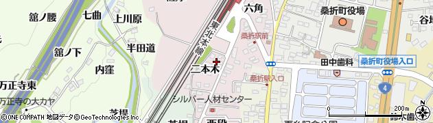桑折町共に生きる社会を創る会(NPO法人) 作業所輪楽創周辺の地図