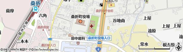 社会福祉法人桑折町社会福祉協議会 ヘルパーステーション周辺の地図