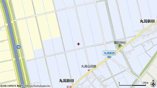 〒950-1132 新潟県新潟市中央区丸潟新田の地図