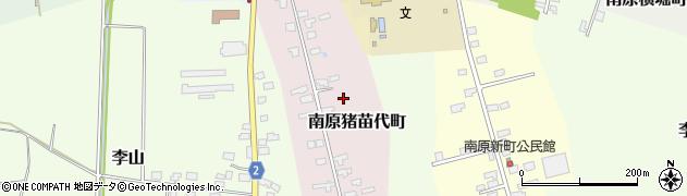 山形県米沢市南原猪苗代町周辺の地図