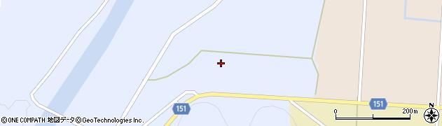 山形県米沢市赤崩(下畑)周辺の地図