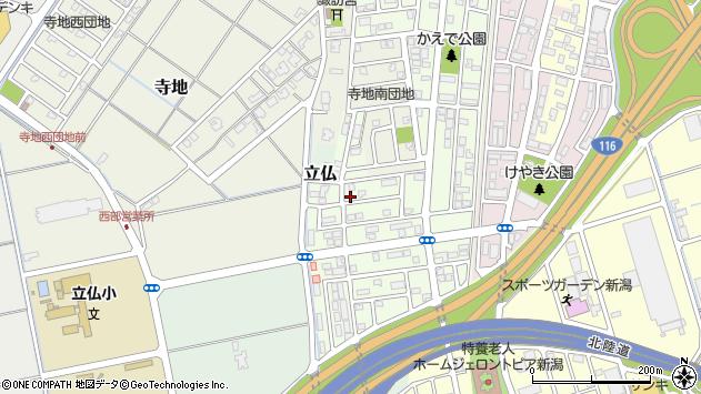 〒950-1106 新潟県新潟市西区ときめき西の地図