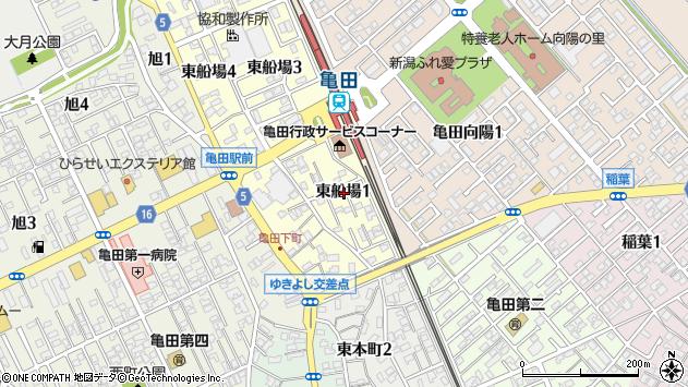 〒950-0163 新潟県新潟市江南区東船場の地図