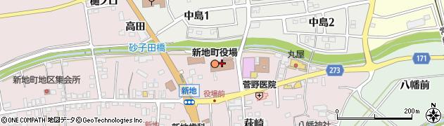 福島県相馬郡新地町周辺の地図