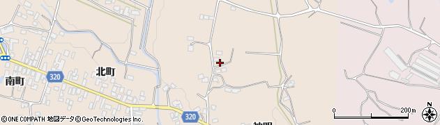 福島県伊達市梁川町東大枝(愛宕山)周辺の地図