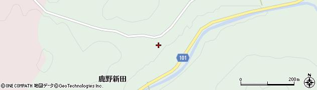 福島県伊達市梁川町山舟生(鹿野新田)周辺の地図