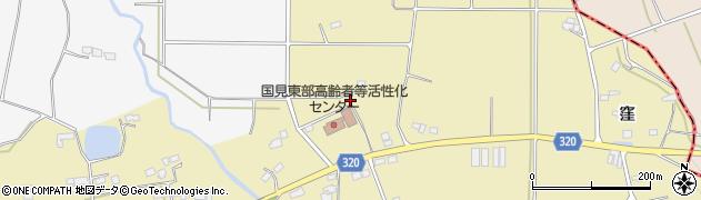 福島県伊達郡国見町西大枝王壇前周辺の地図