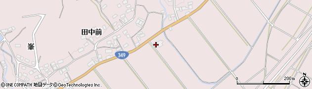 福島県伊達市梁川町五十沢(五合田)周辺の地図