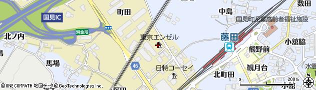 福島県伊達郡国見町小坂梅ノ町周辺の地図