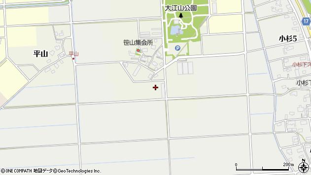 〒950-0104 新潟県新潟市江南区笹山の地図