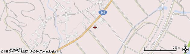福島県伊達市梁川町五十沢(聖天前)周辺の地図