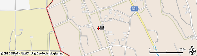 福島県伊達市梁川町東大枝(里後)周辺の地図