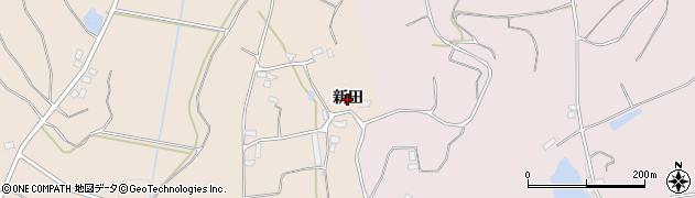 福島県伊達市梁川町東大枝(新田東)周辺の地図
