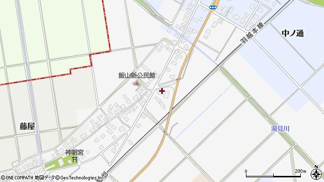 〒959-1902 新潟県阿賀野市飯山新の地図