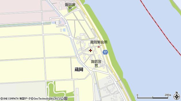 〒950-0103 新潟県新潟市江南区蔵岡の地図