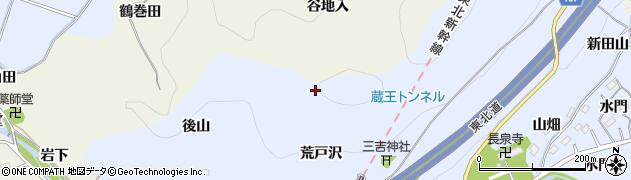 福島県伊達郡国見町山崎峯二周辺の地図