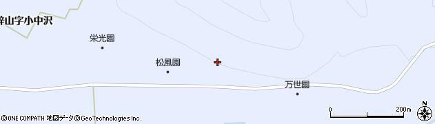 山形県米沢市万世町(梓山字大石山)周辺の地図