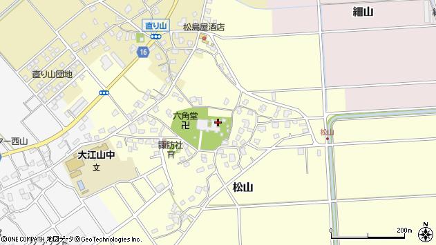 〒950-0112 新潟県新潟市江南区松山の地図