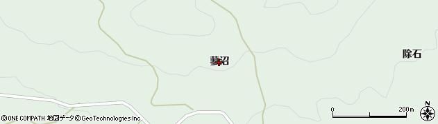 福島県伊達市梁川町山舟生(蓼沼)周辺の地図