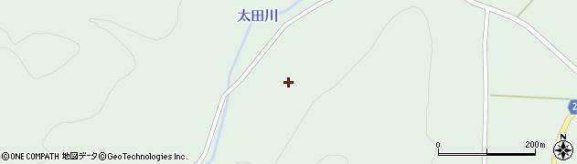 山形県米沢市簗沢(一盃)周辺の地図