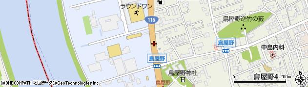 一般国道116号周辺の地図