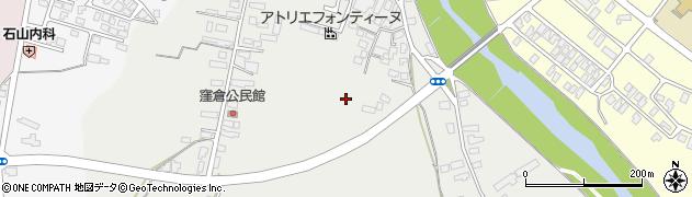 山形県米沢市芳泉町周辺の地図