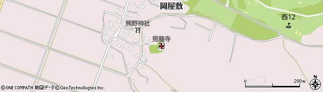 見竜寺周辺の地図