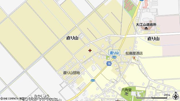 〒950-0111 新潟県新潟市江南区直り山の地図