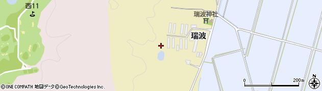 新潟県新発田市瑞波周辺の地図