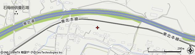 福島県伊達郡国見町石母田上ノ山周辺の地図